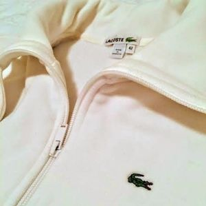 Ladies Lacoste Fleece Pullover